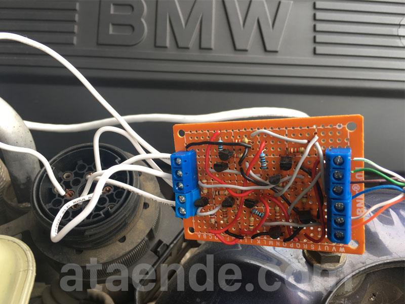 BMW ads scanner