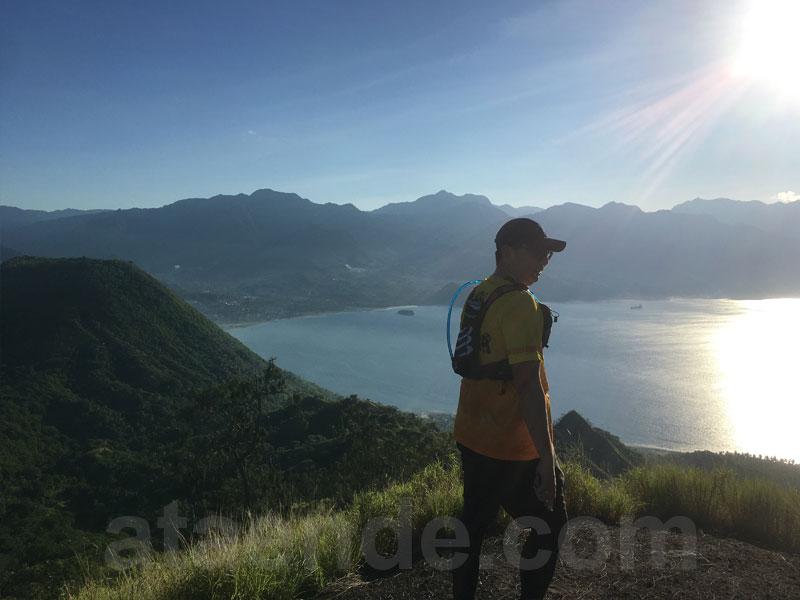 View dari puncak bukit roja