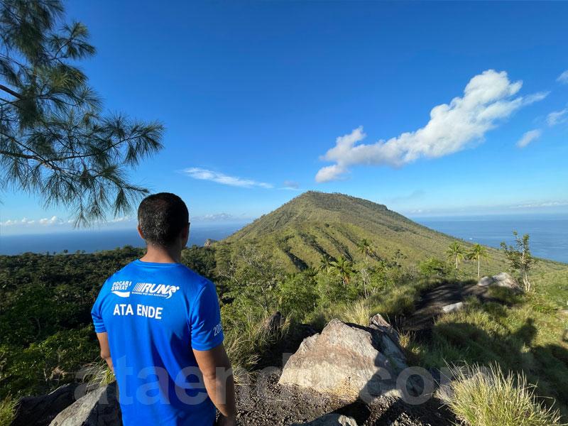 View Gunung Ia dari Bukit Roja