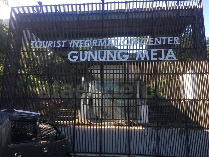 Tourist information center Gunung Meja