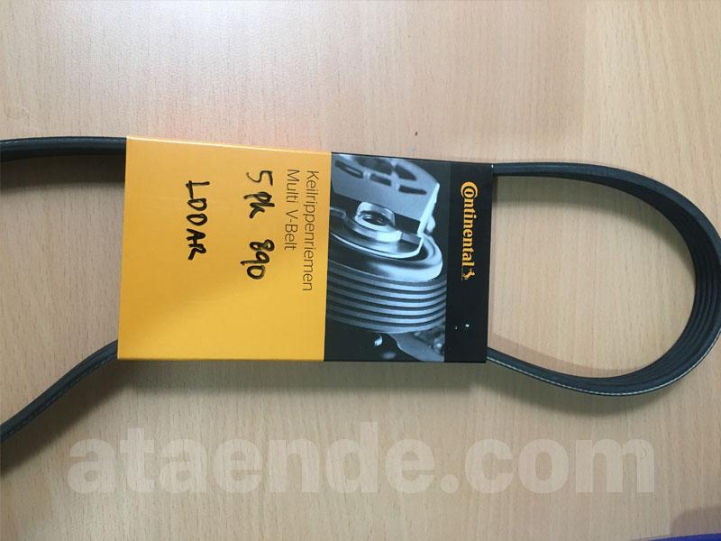 e36 fan belt 5pk890