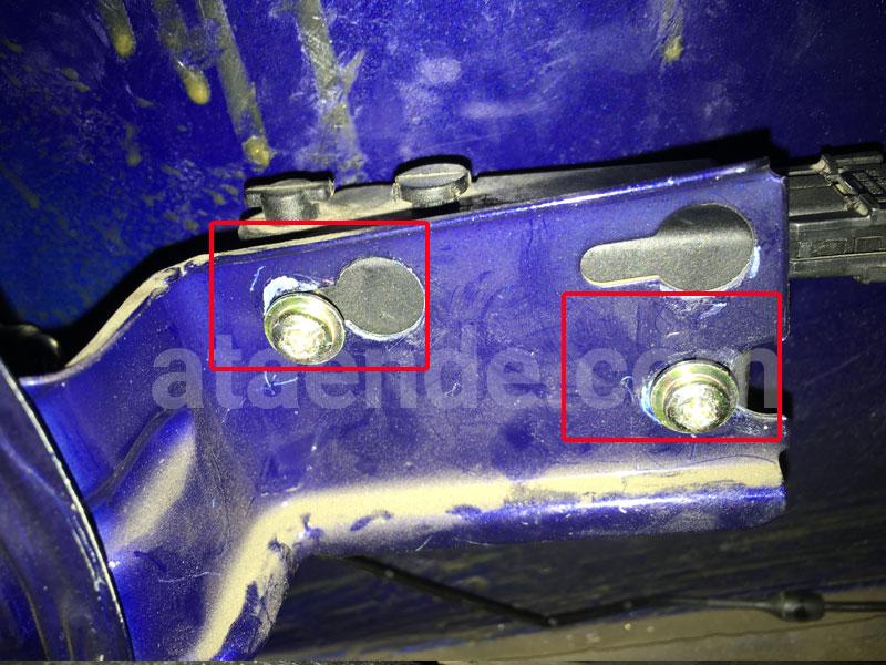 Baut lock actuator