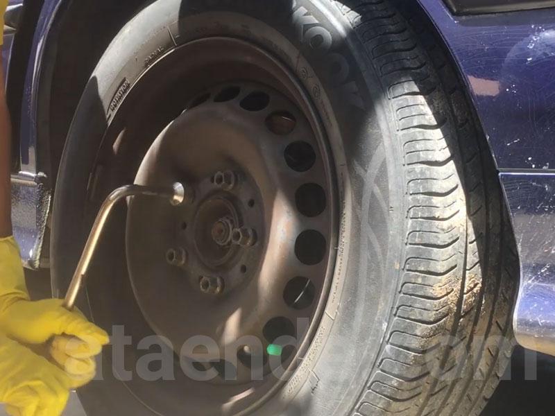 baut roda